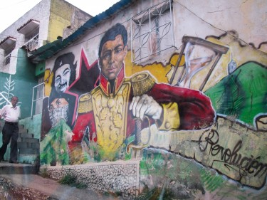 "Photographer and blogger Alberto Rojas shares photos of wall all art in "" The Route of the Spanish"" in Caracas."