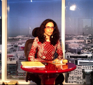 Dima Al Khatib speaks to Al Jazeera about Chavez following his death on Tuesday. Photograph from Khatib's Instagram