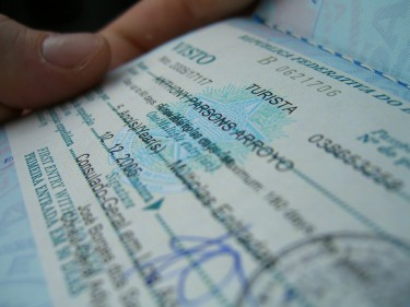 تأشيرة برازيلية