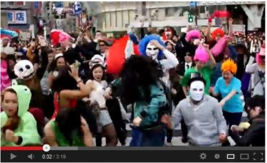Harlem Shake in Shibuya crossing