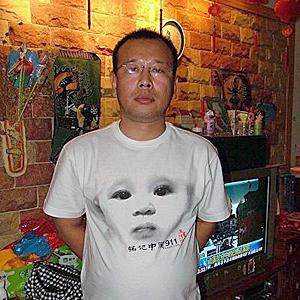 "Zhao Lianhai was sentenced to 2.5 years in prison for ""disturbing social order."" Photo from Boxun."