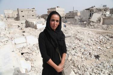 Jenan Moussa in Aleppo