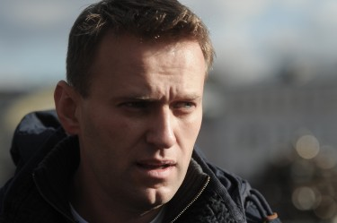 Alexey Navalny at a Moscow protest, 26 May 2012, photo by MItya Aleshkovskiy, CC 3.0.