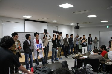 Hackathon in Tokyo for International Space Apps Challenge