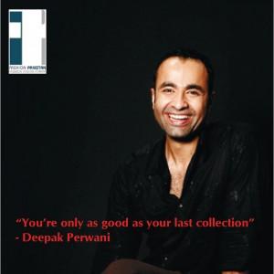 Lo stilista di moda pakistano Deepak Perwani. Foto usata con licenza.