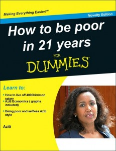 Ethiopian netizens are making funny of remarks by the former First Lady. Image courtesy of @MahletSolomon
