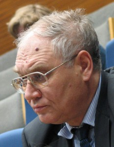 Russian sociologist Lev Gudkov, 26 January 2008, photo by Andrei Romanenko, CC 3.0.