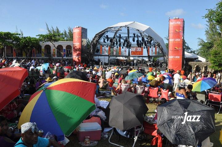Mainstage, Sunday; photo courtesy Lucian Jazz.com, used with permission.