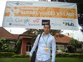 Ahmed at the GV Summit in Nairobi, Kenya
