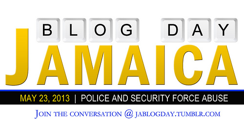 The official Jamaica Blog Day banner; image courtesy JA Blog Day.