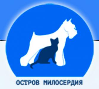 Mercy Island's logo.