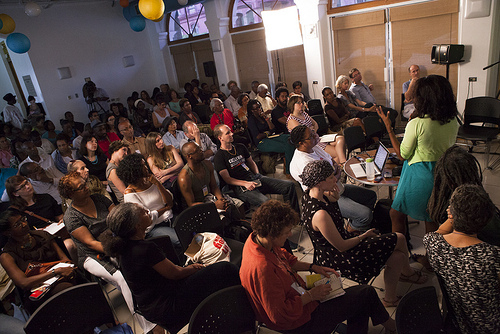 A cross section of the crowd at the NGC Bocas Lit Fest 2013, photo by Maria Nunes, used with permission.