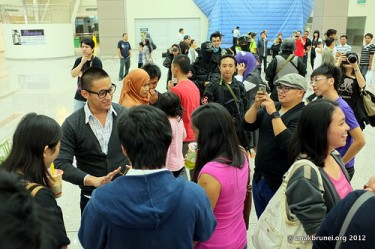 A tweetup event in Brunei. Bruneians are among the most active social media users in Asia. Photo from Flickr page of Reeda