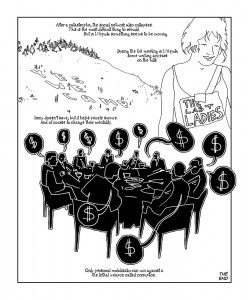 """Yes we camp"", Gianluca Costantini's Political Comics project under CC 3.0 License"