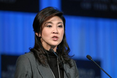Prime Minister Yingluck Shinawatra. Image from Wikipedia