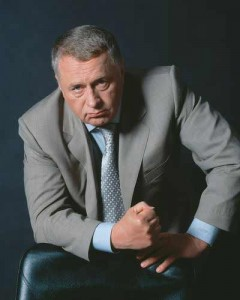 Vladimir Zhirinovsky, image from the LDPR's website, used with permission.