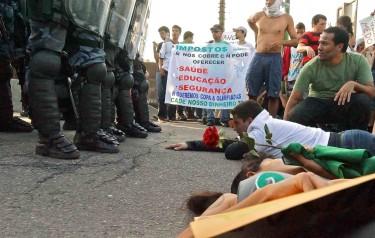 Protesto no Rio Revolta do Vinagre