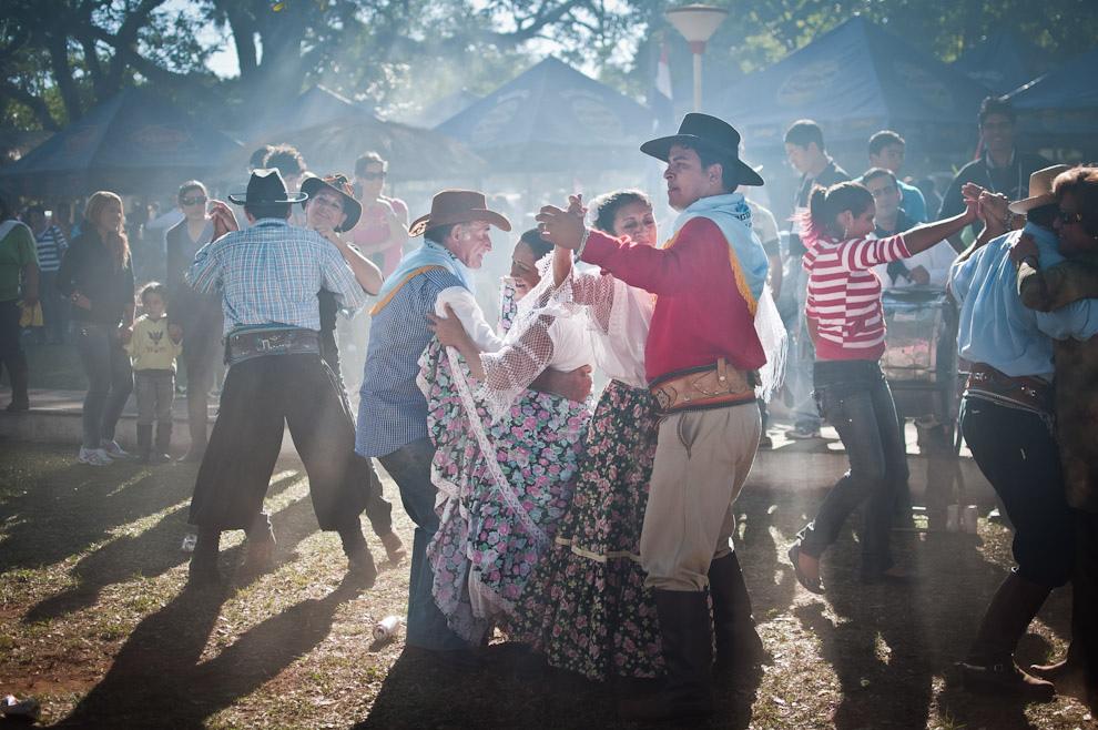 Ovecha Rague festival in San Miguel, Paraguay. Photo by Elton Núñez