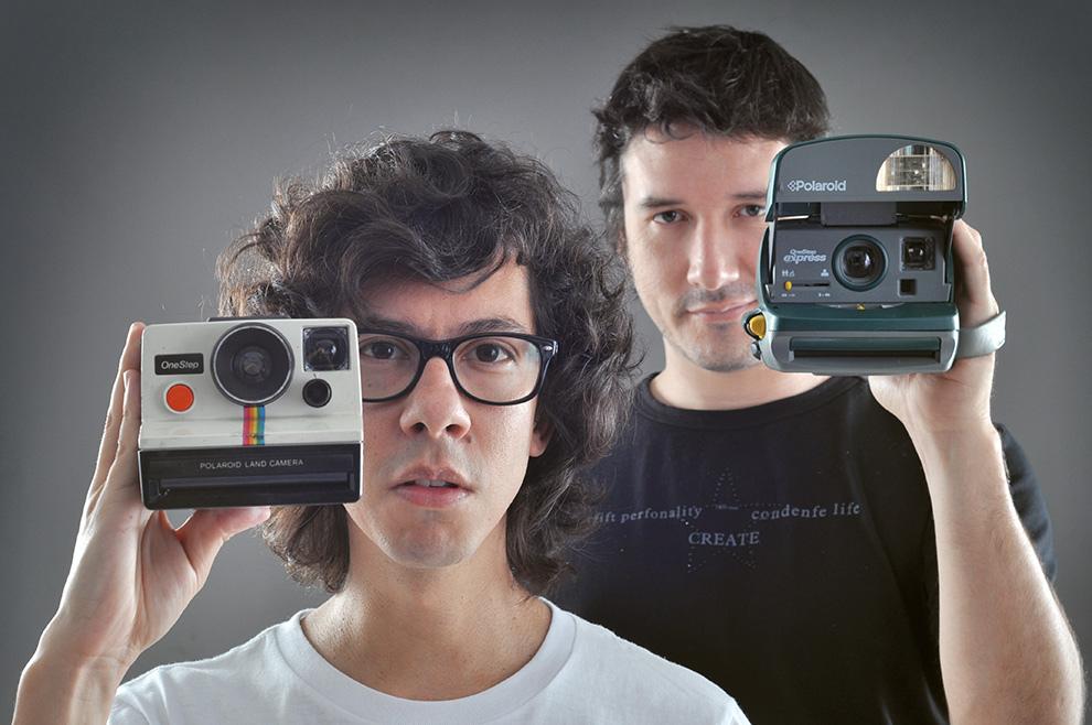 Team Yluux: Photographers Tetsu Espósito and Elton Núñez (Photo by Javier Valdez)