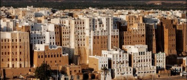 Shibam, the Manhattan of the desert, by photographer:  Michail Vorobyev.