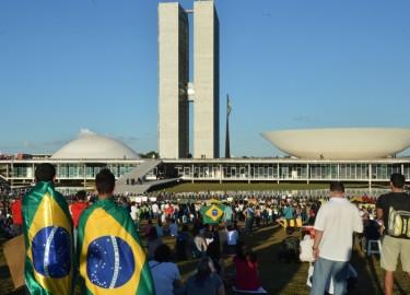 مظاهرة في العاصمة برازيليا  26 يونيو 2013