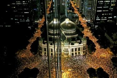 Protesto Rio Janeiro