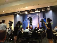 Daily News Briefing at Chinese Foreign Ministry( Pic by Owen)