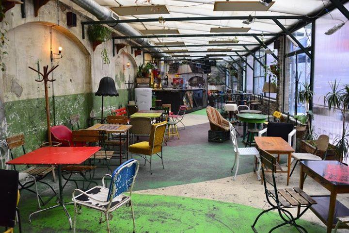 "A ""ruin pub"" in Budapest; photo courtesy of Alternative Budapest."