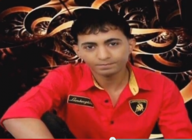 19-year-old Ali Al-Mahrous. Screenshot from Nabaa TV report on the June 21 shooting uploaded on its YouTube channel.