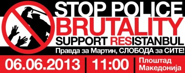 Stop Police Brutality June 6 2013