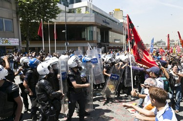 """Unrest in Istanbul"", June 11, 2013, Photo by  Eser Karadağ CC2.0"