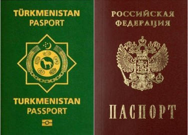 Turkmen-Russian Passports