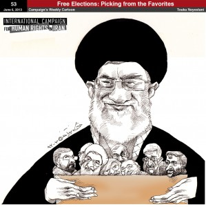 The Presidential Election. Shared by the International Campaign for Human Rights in Iran