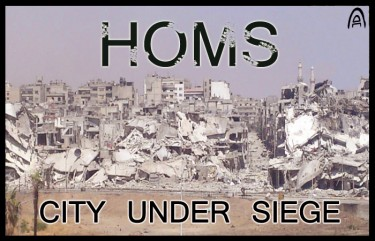 homs...city under siege by abdulrahman-romano
