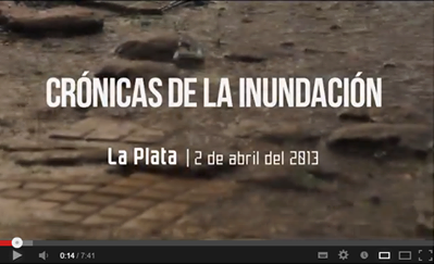 A video series telling the human stories behind the heavy rains that hit La Plata in early April, 2013.