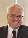 President Ivo Josipović; image from josipovic.net used under Creative Commons Attribution 3.0 License
