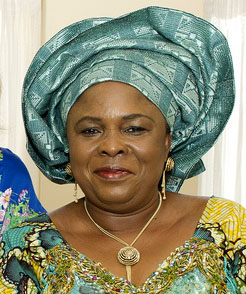 Nigeria's First Lady Madame Patience Jonathan. Photo released by Flickr user MDGovpics under Creative Commons   (CC BY 2.0).