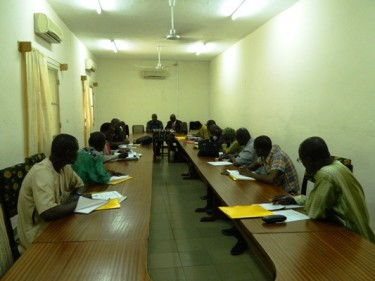 Training  for Media and Elections in Mali. Photo by Fasokan published with his permission
