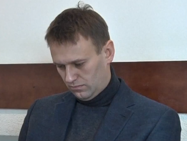 Alexey Navalny, screenshot from YouTube.