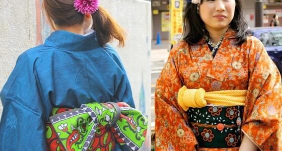 Un groupe de mères confectionnent des ceintures de Kimono japonais à partir de tissus africains. Image utilisée avec la permission de Yumi Nakano.