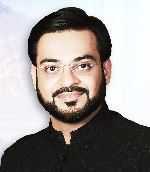 Amir Liaqat Hussain. Image via Wkipedia. BY-SA