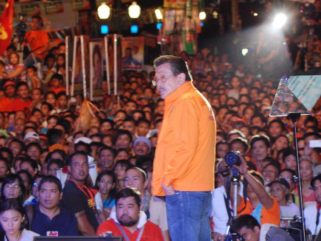 Mayor Joseph Estrada. Photo from Facebook