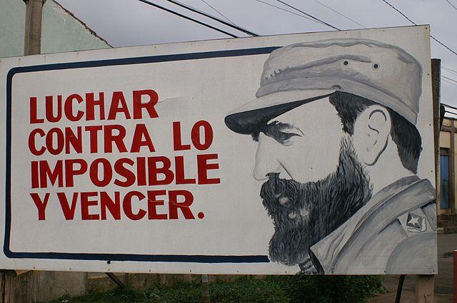 Billboard in Cuba. Photo by Jim Snapper. (CC BY 2.0)