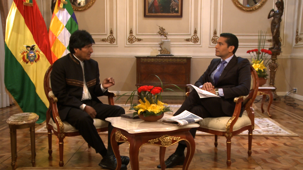 Bolivia's President Morales vs CNN: A Controversial Interview · Global Voices