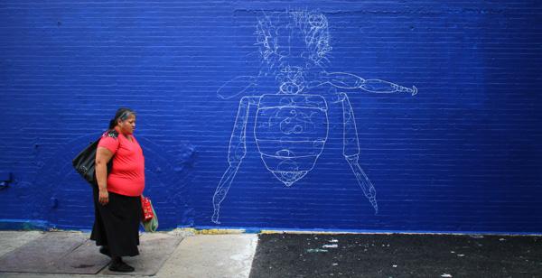 Los Muros Hablan NYC. Photo José Jiménez Tirado.
