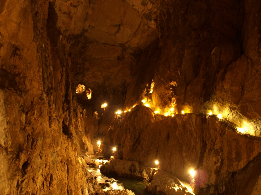 One of Slovenia's man natural wonders - Skocjan Caves; used under Creative Commons license.