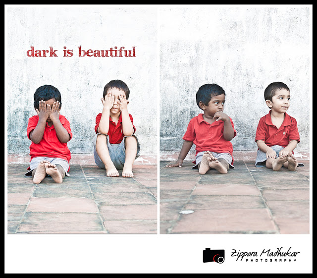 Skin color bias is an issue in India. Image by Zippora Madhukar Photography for Dark Is Beautiful Campaign.
