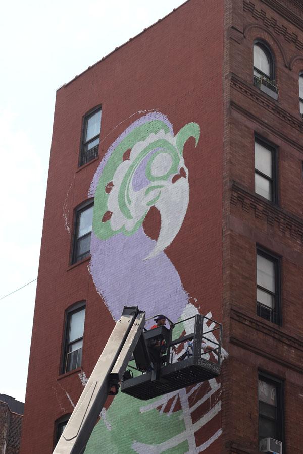 Los Muros Hablan NYC. Photo JP Eaglin.
