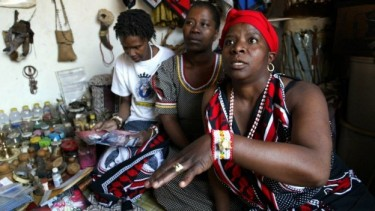 A South African traditional healer popularly known as Sangoma in Zulu. Photo courtesy of africacheck.org