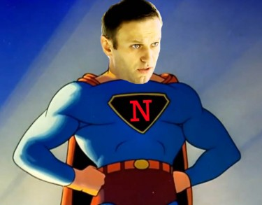 Navalny's Kryptonite? Image created by author using image captures from YouTube.